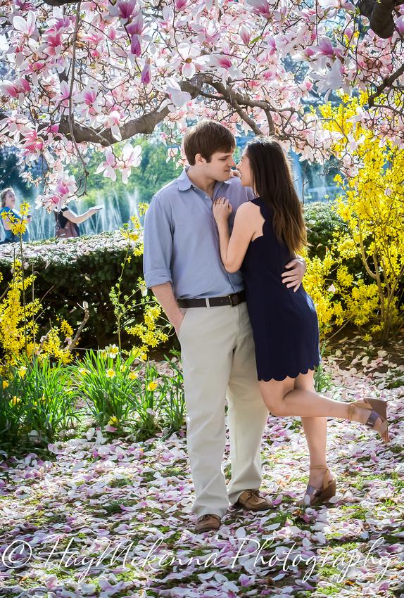 Cherry Blossom Engagement 10