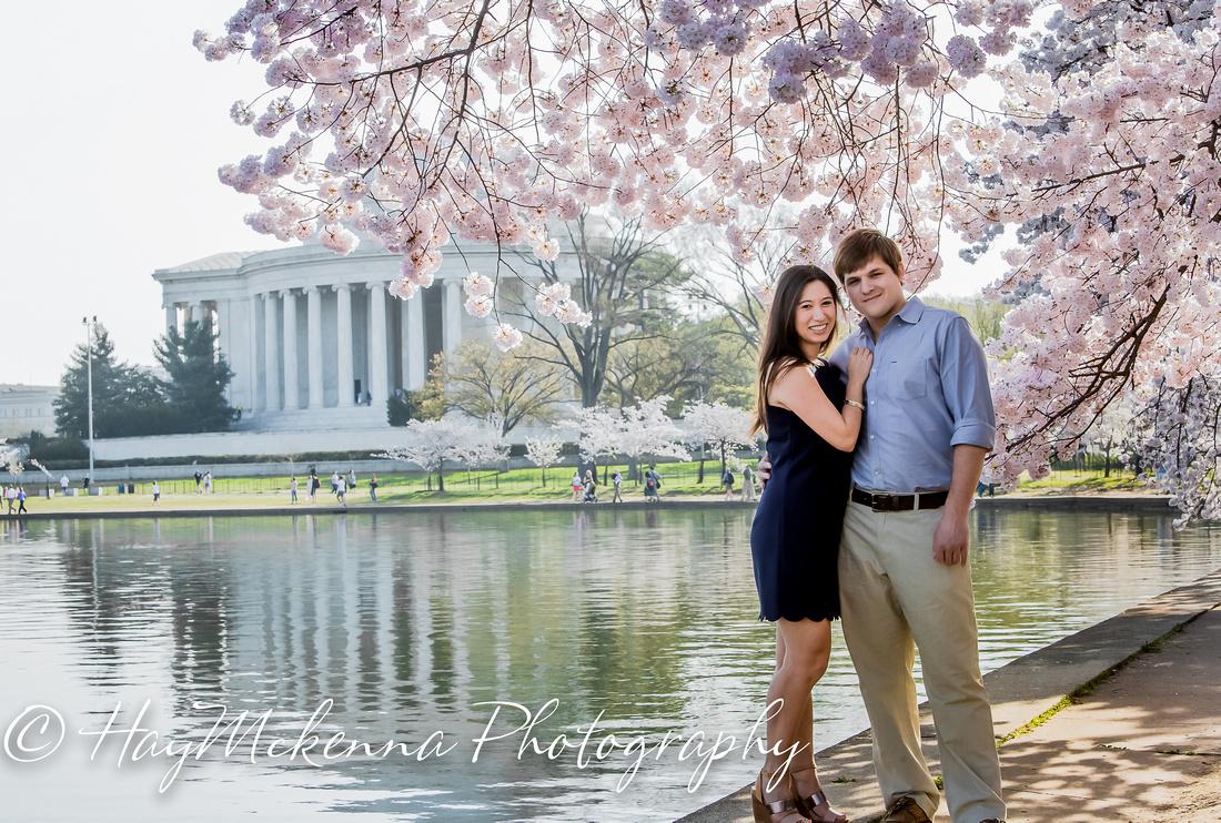 Cherry Blossom Engagement 01