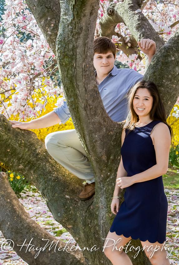 Cherry Blossom Engagement 12